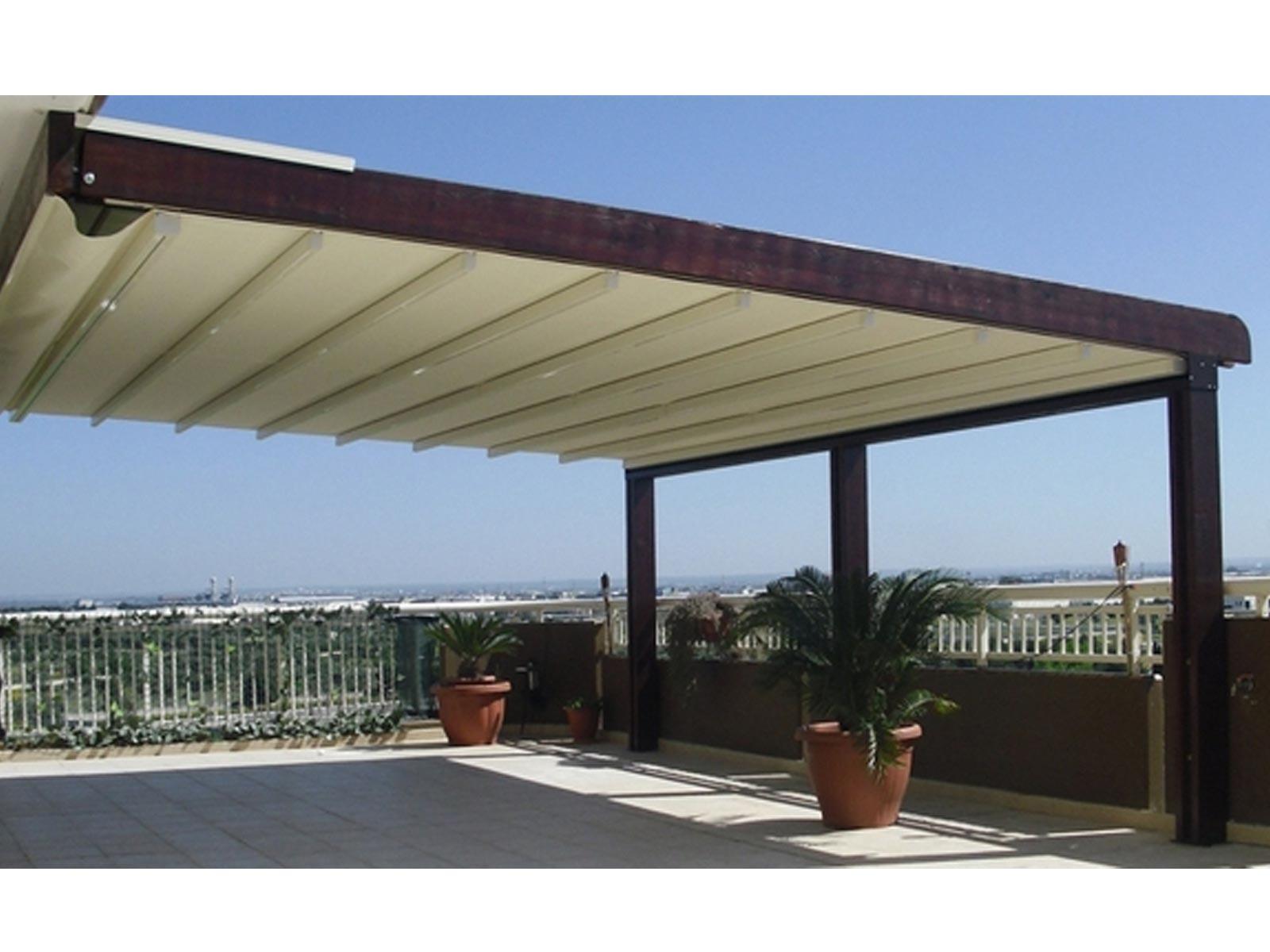 Copertura in pvc per terrazzo a brescia e bergamo essevi - Soluzioni per copertura terrazzi ...